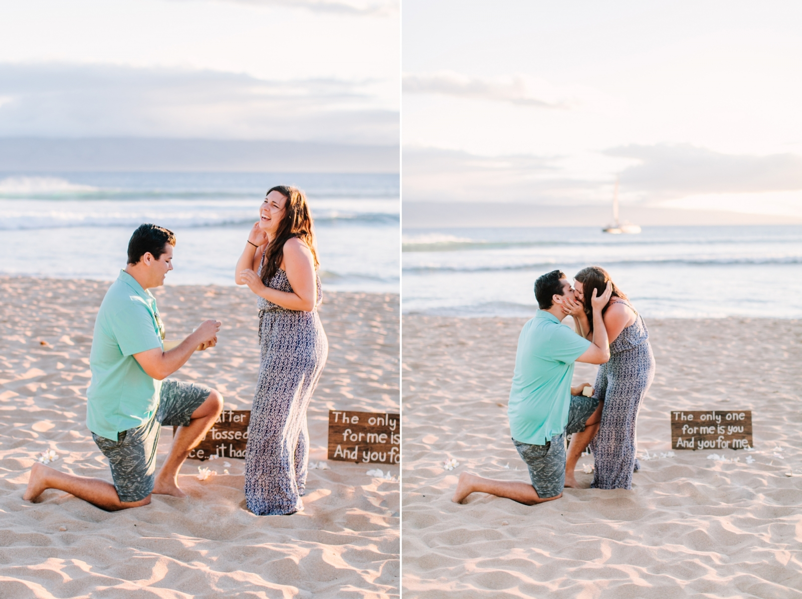 hawaii maui proposal photographer engagement session