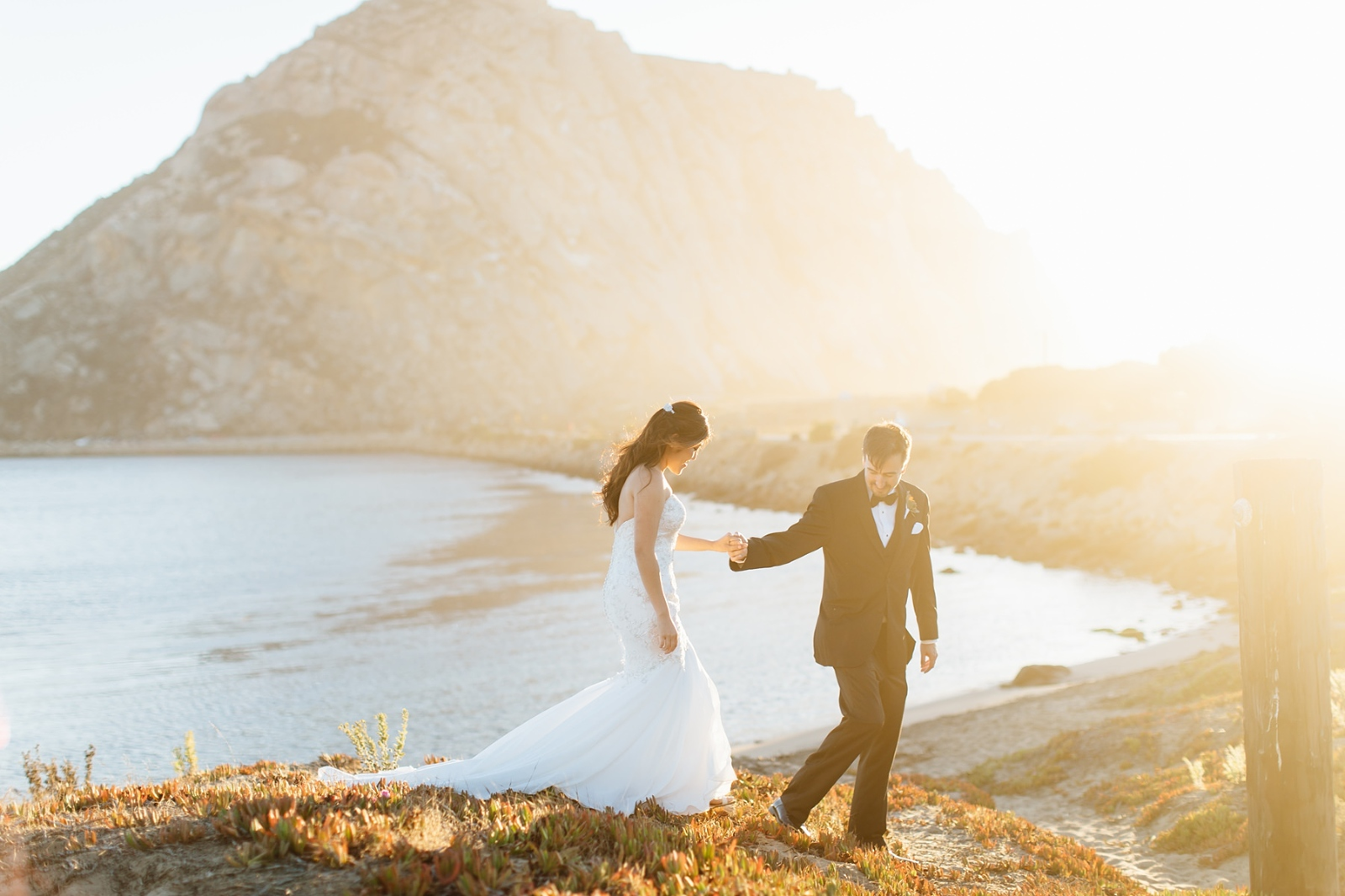 Morro Bay wedding at Windows on the water by Jessica Sofranko